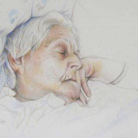 Marie Polhuis, colour pencil